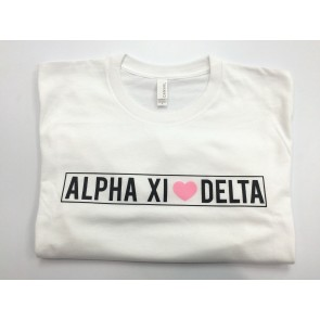 Brandy Melville Fashion Tee - Alpha Xi Delta