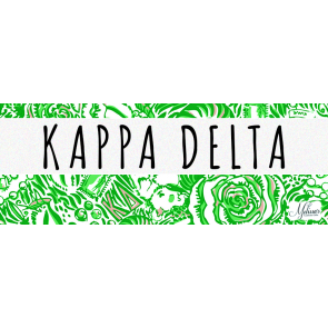 Kappa Delta Lilly Pulitzer Cover Photo