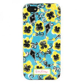 Lilly Pulitzer iPhone 5 Cover - Theta