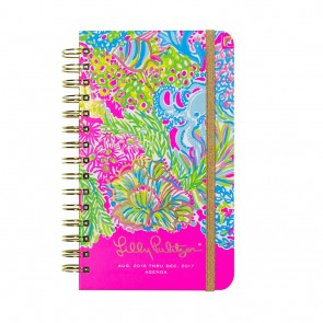 Lilly Pulitzer Lover's Coral Medium Agenda