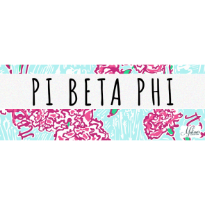 Pi Beta Phi Lilly Pulitzer Cover Photo