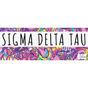 Sigma Delta Tau Lilly Pulitzer-esque Cover Photo