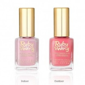 Ruby Wing® Color Changing Nail Polish - Sweet Rose