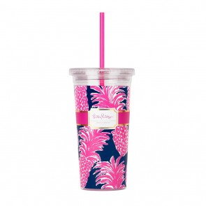 Lilly Pulitzer Tumbler - Flamenco