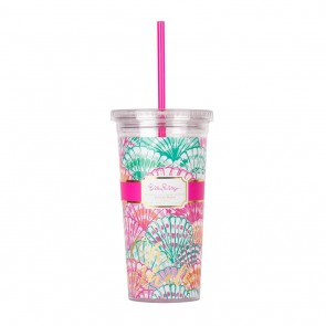Lilly Pulitzer Tumbler - Oh Shello