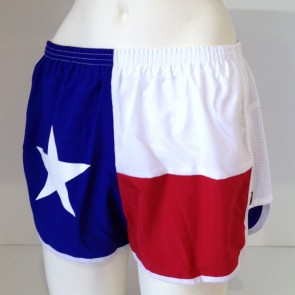 Texas Flag Running Shorts