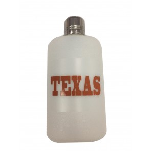 Hard Plastic Flask - 14 oz