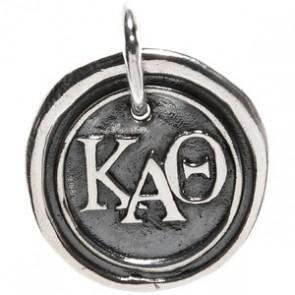 Waxing Poetic Sorority Charm-Kappa Alpha Theta
