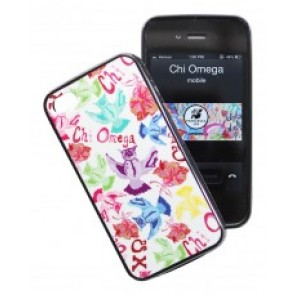 Chi Omega iPhone case