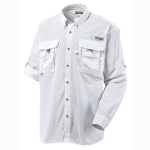 663764e2a08 Columbia PFG Bahama II Long Sleeve Shirt - White