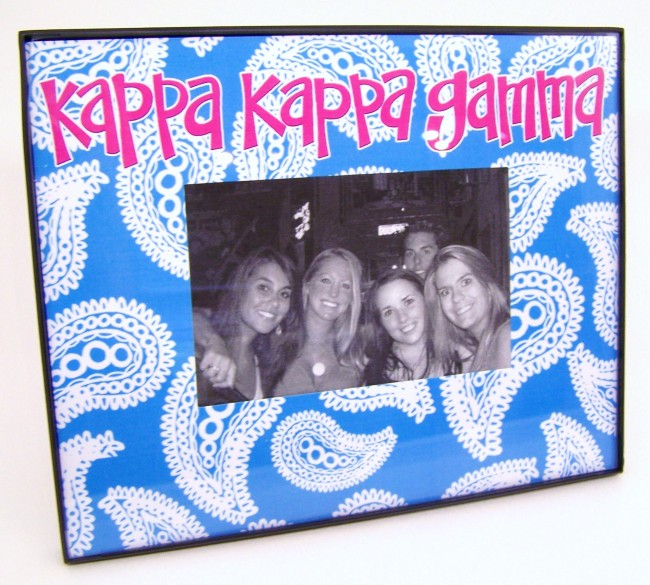 Paisley Picture Frame Melissas Custom Gifts