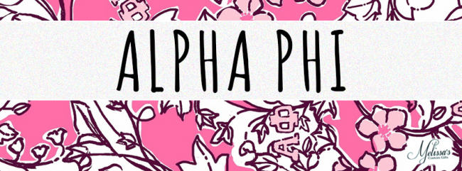 ac66f2922c94d5 Alpha Phi Sorority Lilly Pulitzer Cover Photo - Melissa's Custom Gifts