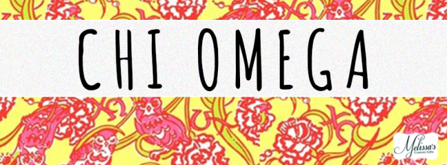 Chi Omega Sorority Lilly Pulitzer Cover Photo - Melissa\'s ...