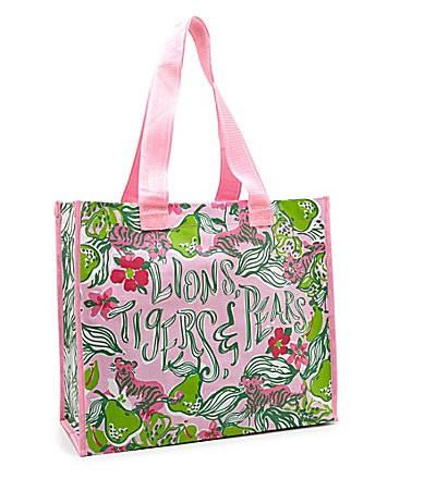 Lilly Pulitzer Tiger Market Bag