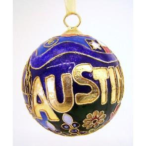 Austin Ornament Front