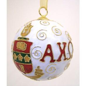 AchiO Round Wt Ornament