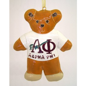 APhi Teddy Ornament