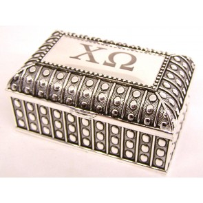 ChiO Beaded Box