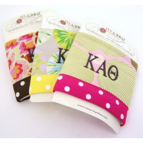 Embroidered Can Koozie - Kappa Alpha Theta