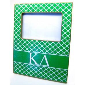 KD Decoupage Picture Frame - Green Trellis