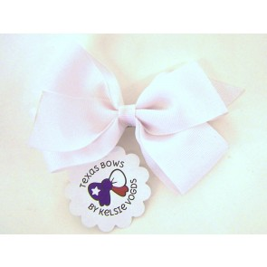 Solid White Boutique Bow