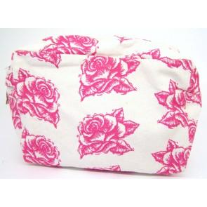 Canvas Cosmetic Bag - Alpha Xi Delta