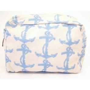 Canvas Cosmetic Bag - Delta Gamma
