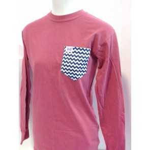 Fraternity Collection The Mandy Pocket Longsleeve Shirt