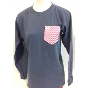 Fraternity Collection The Juliet Pocket Longsleeve Shirt