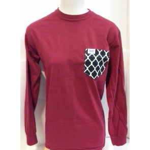 Fraternity Collection The Tiffany Pocket Longsleeve T-Shirt