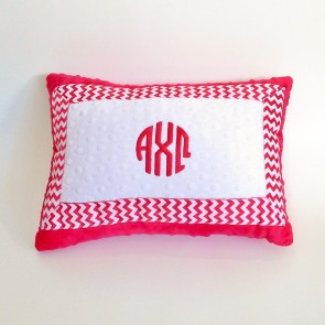 Alpha Chi Omega Minky Dot Pillow
