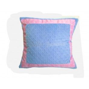 Delta Gamma Super Soft Minky Dot Pillow