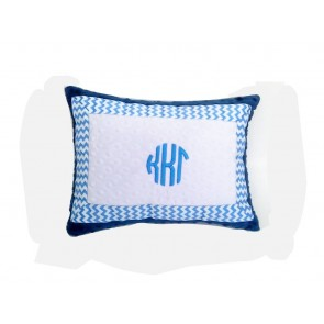 Kappa Kappa Gamma Minky Dot Pillow