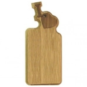 """I Love"" Oak Paddle"