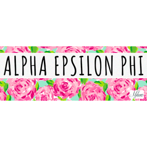 Alpha Epsilon Phi Lilly Pulitzer Cover Photo
