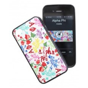 Alpha Phi iPhone case