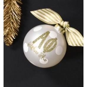 Gold Sorority Ornament