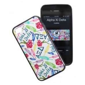 Alpha Xi Delta iPhone case
