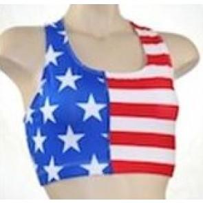 Performance Bra US Flag