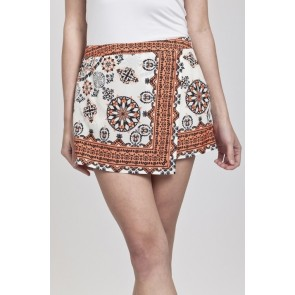 Multicolored Skort