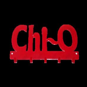 Chi Omega Wall Hooks