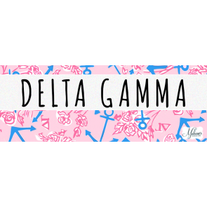 Delta Gamma Lilly Pulitzer Cover Photo