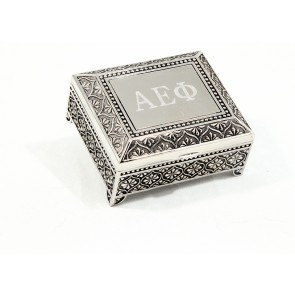 AEPhi Footed Box