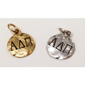 Monogram Alpha Delta Pi Charm