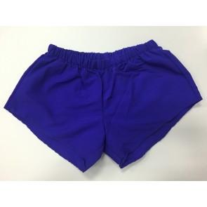 Purple Nylon Shorts