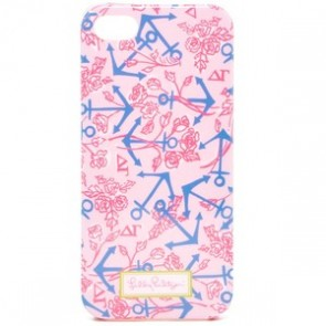 Lilly Pulitzer iPhone 5 Cover - Delta Gamma
