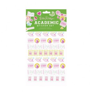 Academic Agenda Sticker Set