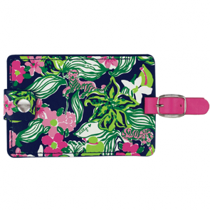 Lilly Pulitzer Tiger Lilly Luggage Tag