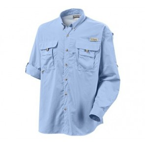 Columbia PFG Bahama II Long Sleeve Shirt - Sail
