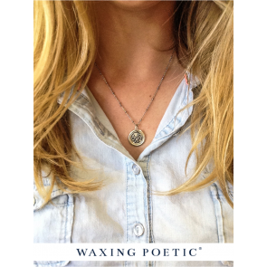 Waxing Poetic Sorority Charm
